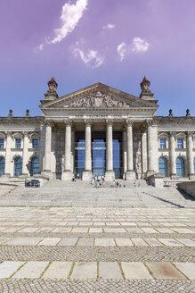 Germany, Berlin, Berlin-Tiergarten, Reichstag building - WIF000985