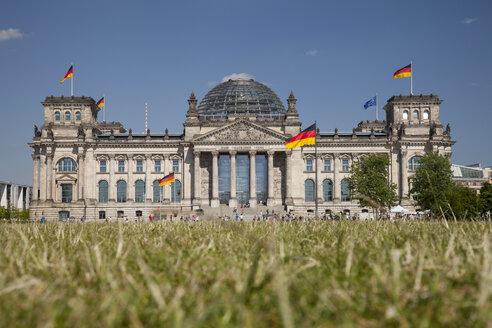 Germany, Berlin, Berlin-Tiergarten, Reichstag building - WIF000987