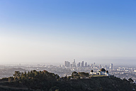 USA, California, Los Angeles, Griffith Observatory and Skyline - FOF006946