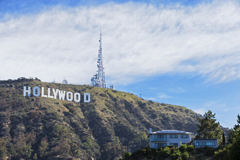 USA, California, Los Angeles, Hollywood Hill, Hollywood Sign - FOF006955
