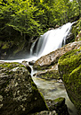 France, Pyrenees, Northern Catalonia, Valle de Orlu, Waterall, Re d'le Alebanet - STSF000482