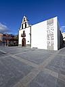Spain, Canary Islands, La Palma, Puerto de Tazacorte, Nuetros Senora de las Angustias Church - AMF002819