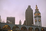 USA, California, San Francisco, Ferry Building in the morning - BRF000722