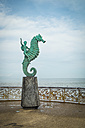 Mexico, Jalisco, Puerto Vallarta, view to sculpture 'El Caballito' at Malecon boardwalk - ABA001464
