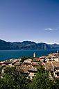 Italy, Veneto, Brenzone, Lake Garda, Castelletto di Brenzone - LVF001815