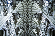 United Kingdom, England, Hampshire, Winchester Cathedral, groin vault - DIS000988
