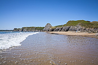 United Kingdom, Wales, Gower Peninsula, Three Cliffs Bay, Area of Outstanding Natural Beauty - DISF001002
