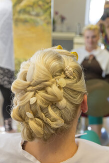 Hairstyle of a bride - MABF000236
