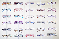 Assortment of glasses in an optician shop - ZEF000720
