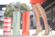 Young woman on a shopping spree - ZEF000156