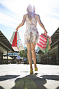 Young woman on a shopping spree - ZEF000161