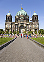 Germany, Berlin, Museum Island, Berlin Cathedral in Lustgarten - PSF000633
