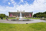 Germany, Berlin, Museum Island, Altes Museum in Lustgarten - PSF000658