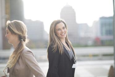 Portrait of smiling businesswoman - ZEF000242