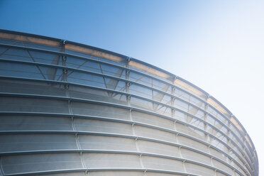 South Africa, Cape Town, facade of stadium - ZEF000860