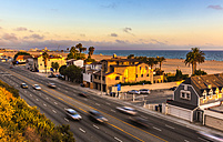 USA, California, Pacific Coast Highway in Santa Monica - JLRF000001