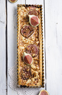 Fig sheep cheese tart - ODF000832