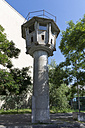 Germany, Berlin, Watchtower of the former GDR at Potsdam Square - WIF001027