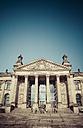 Germany, Berlin, Berlin-Tiergarten, Reichstag building - KRPF001125