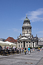 Germany, Berlin, Berlin-Mitte, Gendarmenmarkt, French Cathedral - WIF001054