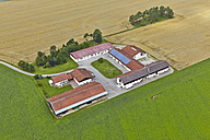 Germany, Bavaria, aerial view of farm building - KD000023