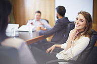 Confident businesswoman in a meeting - ZEF000273