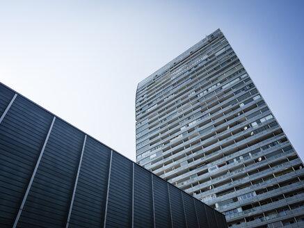Austria, Vienna, Donau City, Austria Center Vienna and Mischek Tower - DISF001033