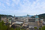 Austria, Salzburg, City center, St Peter church and Salzburg Cathedral - HSIF000351