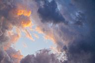 Germany, Berlin, cloud formation in the sky - KRPF001135