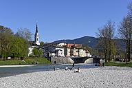 Germany, Bavaria, Upper Bavaria, Bad Toelz, Isar river - LHF000404