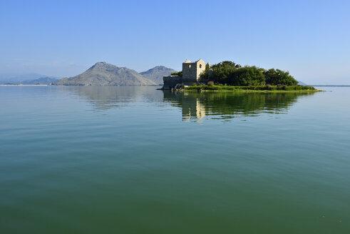 Montenegro, Crna Gora, The Balkans, historic ottoman fortress on Grmozur Island, Skadar Lake National Park - ES001386