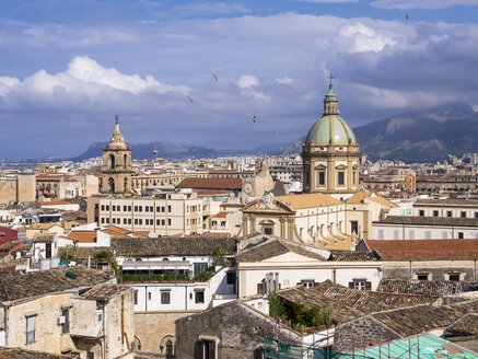 Italy, Sicily, Palermo, Old town, Church of the Gesu right - AMF002836