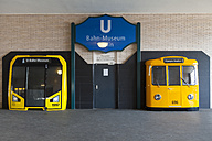 Germany, Berlin, view to entrance of Underground Train Museum - WI001065