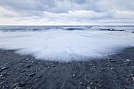 New Zealand, South Island, Hokitika, sundown at ocean - WV000727