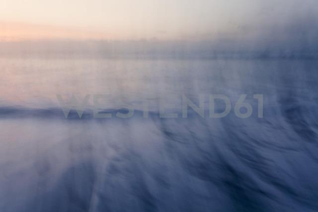 New Zealand, South Island, Punakaiki, sunset over beach - WV000735