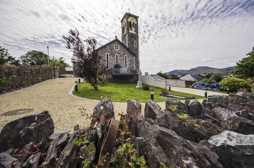 Ireland, Ring of Kerry, Sneem, St. Michael's Church - THA000605