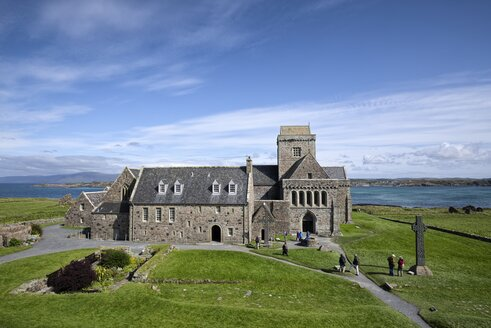 UK, Scotland, Argyll and Bute, Iona, Iona Abbey - ELF001301