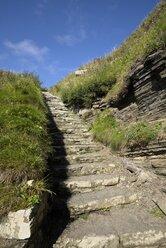 United Kingdom, Scotland, Whaligoe steps at Caithness - ELF001357
