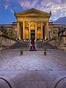 Italy, Sicily, Palermo, Teatro Massimo at Piazza Verdi - AM002892