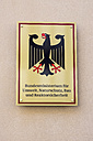 Germany, Berlin, sign of Federal Ministry for the Environment, Nature Conservation, Building and Nuclear Safety - WI001095