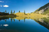 Germany, Bavaria, Allgaeu, Allgaeu Alps, Unterer Gaisalpsee - WGF000470