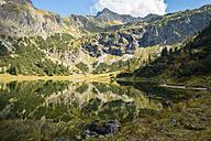 Germany, Bavaria, Allgaeu, Allgaeu Alps, Unterer Gaisalpsee - WGF000472