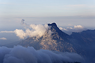 Austria, Upper Austria, Salzkammergut, clouds above mountain Traunstein - SIEF006000