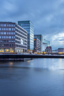 Germany, Hamburg, modern architecture in Hafencity - NKF000199