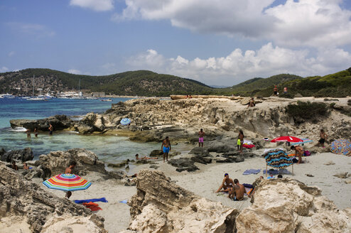 Spain, Balearic Islands, Ibiza, Las Salinas, beach - TK000400