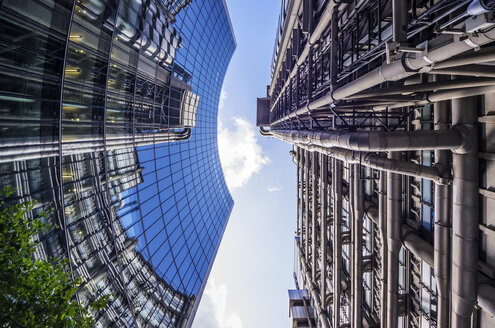 UK, London, Willis Buidling, upward view - THAF000701