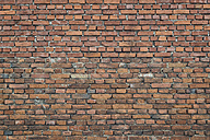 Part of a brick wall - OPF000009