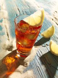 Campari with lemon slice - SRSF000521
