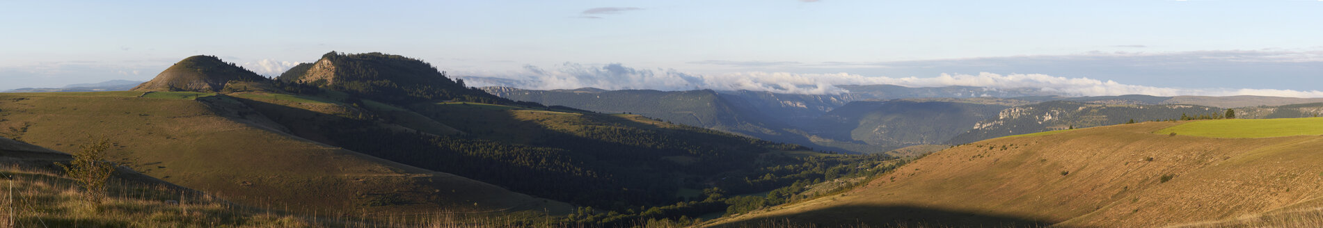 France, Mont Lozere, Cevennes National Park, Panorama - DHL000500