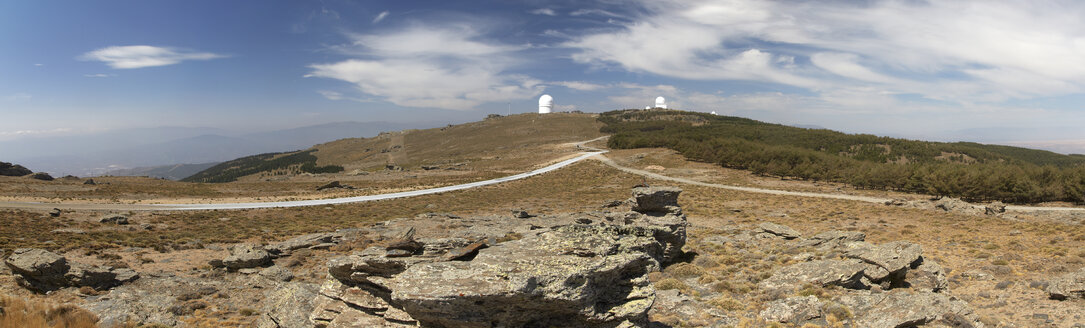 Spain, Andalusia, Calar Alto, Calar Alto Observatory, Panorama - DHL000494